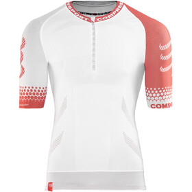 Compressport Trail Running Hardloopshirt korte mouwen wit
